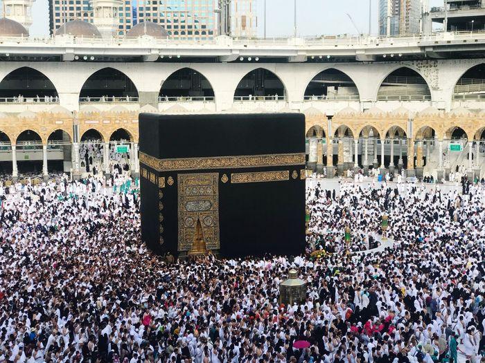 Photo taken in Mecca, Saudi Arabia