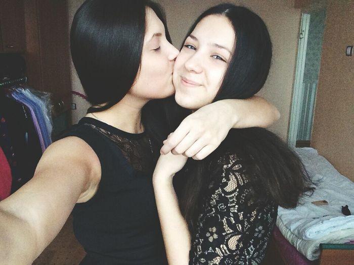Love She ♥ She Loves Me ♥ Selfie Love Hello World BF♥