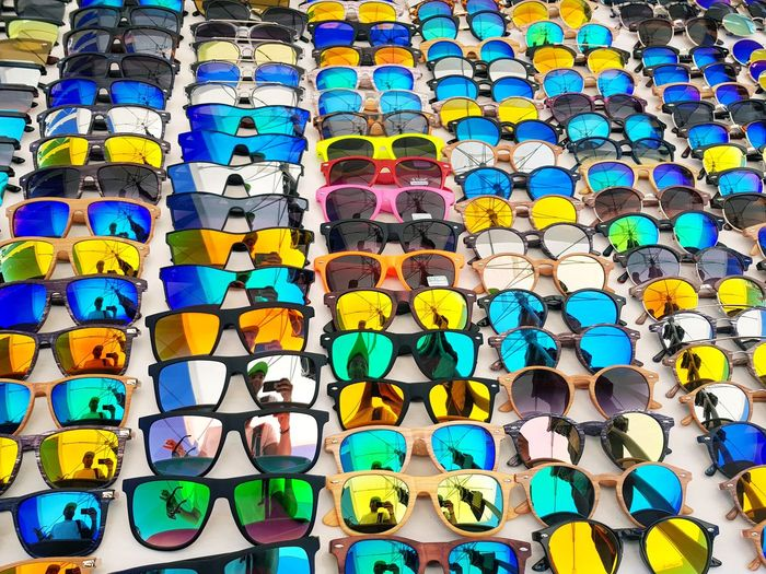 So many points of view Sunglasses Sunglasses Reflection Sunglass Selfie Colours Colourful Full Frame Multi Colored Pattern Variation Close-up Choice Large Group Of Objects Ibiza Sun Ibizastyle  Sunglass Reflection Sunglass Hut Choices Variety Colors ChoicesInLife EyeEmBestPics EyeEm Best Shots Eyeemphotography Abstract Abstract Photography