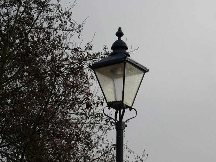 Lighting Equipment Street Lamp Trees Sky