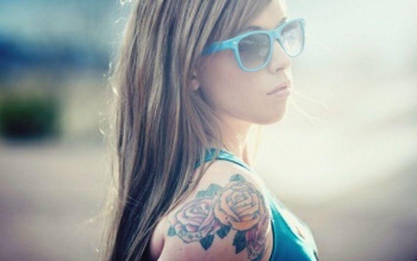 Beautiful Tattoo Lady Love It