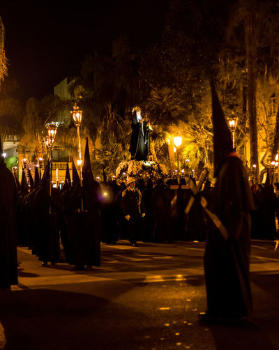 Easter Procession in Sorrento in Italy. Believe Celebration Cross Crossing Easter Glaube Und Religion Jesus Katholisch Kreuz  Maria Night Ostern Ostern 2017 Outdoors Procession Prozession Real People Relegion Traditional Festival