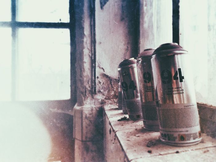 Spray cans Spraypaint Spray Spray Paint Spray Painting Cans Art Abandoned Abandoned Places Abandoned Buildings Vintage