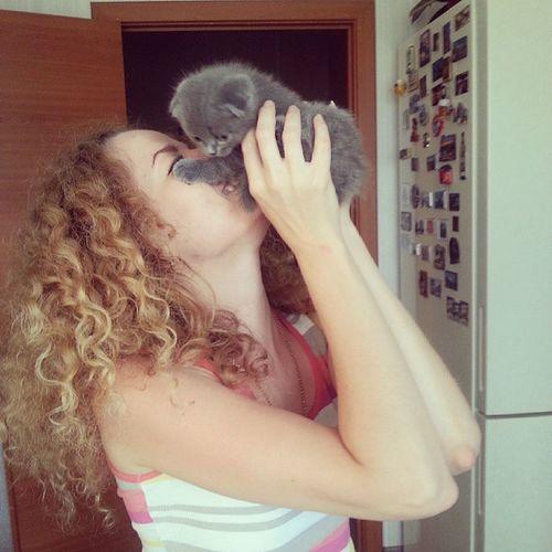 Я опять в гостях у Симба ! Сегодня всех ждет серия фотографий с милым котенком