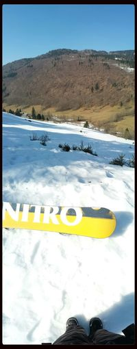 From Where I Stand Snowboarding Nitro Nature