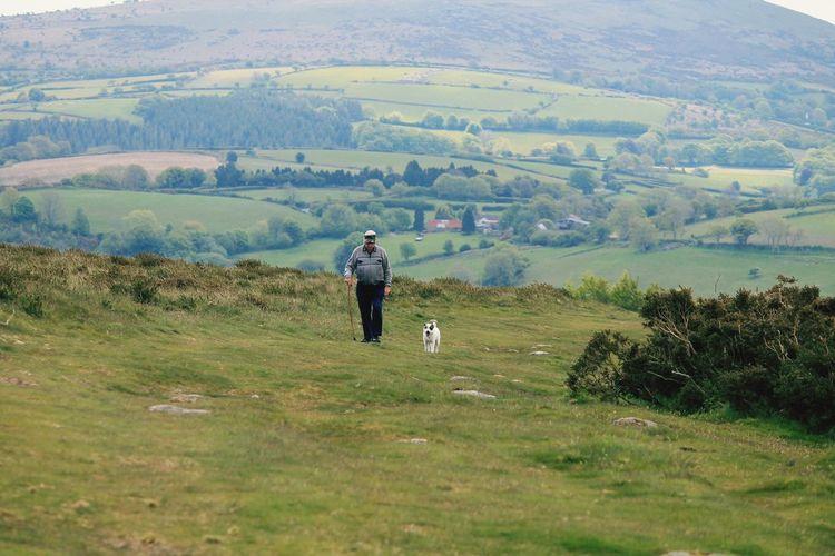 Chagford Dartmoor Walking Around Devon Contryside