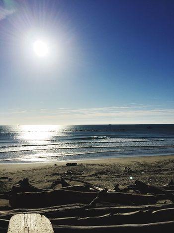 今日も朝からファンサーフ😊✨☀️✨ サーフィン 波乗り 空 Surfing 空パワー 青空 海 綺麗な海