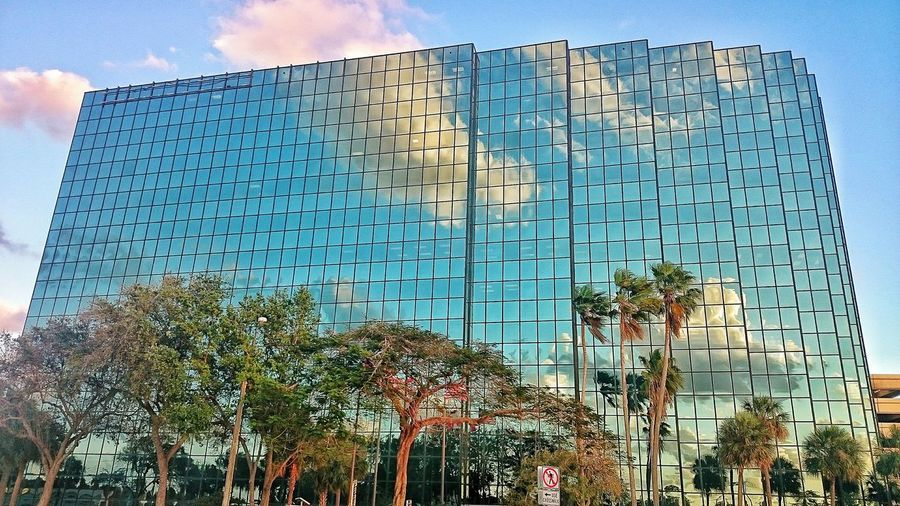 Bank of America Financial center in Fort Lauderdale, Florida Built Structure Architecture Reflection Reflections Reflection_collection Reflection Photography Reflection Perfection  Reflections In The Glass Windows Reflection On Building Reflectionphotography Reflection Obsession Reflections ☀ ReflectionPerfection! Reflection_shotz Reflection Perfection  BuildingPorn Building Building Exterior Buildings & Sky Building And Sky Building Reflections Building Reflecting The Clouds Sky Clear Sky Outdoors The Architect - 2017 EyeEm Awards