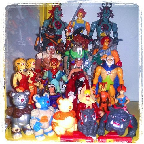 "Thundercats displayed on clear, acrylic steps. The steps measure 9""w x 6""h x 6""d. Toyshelf Liono 80scartoons Toycollectorproblems Ljn Thundercatsho Actionfigures Vintagetoys Vintageactionfigures 80s 80stoys 80spopculture 80sKid 80schild Toycollector Toycrewbuddies Toycollection Toycommunity Toypics Toys4life Instatoys Toygroup_alliance Toystoystoys Toyphotography actionfigures actionfigurephotography"