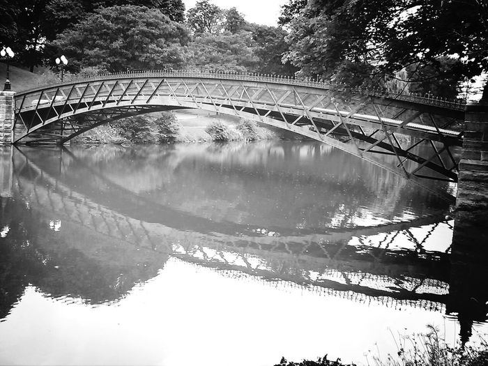 Bw_collection Water Reflections Under The Bridge Taking Photos ❤