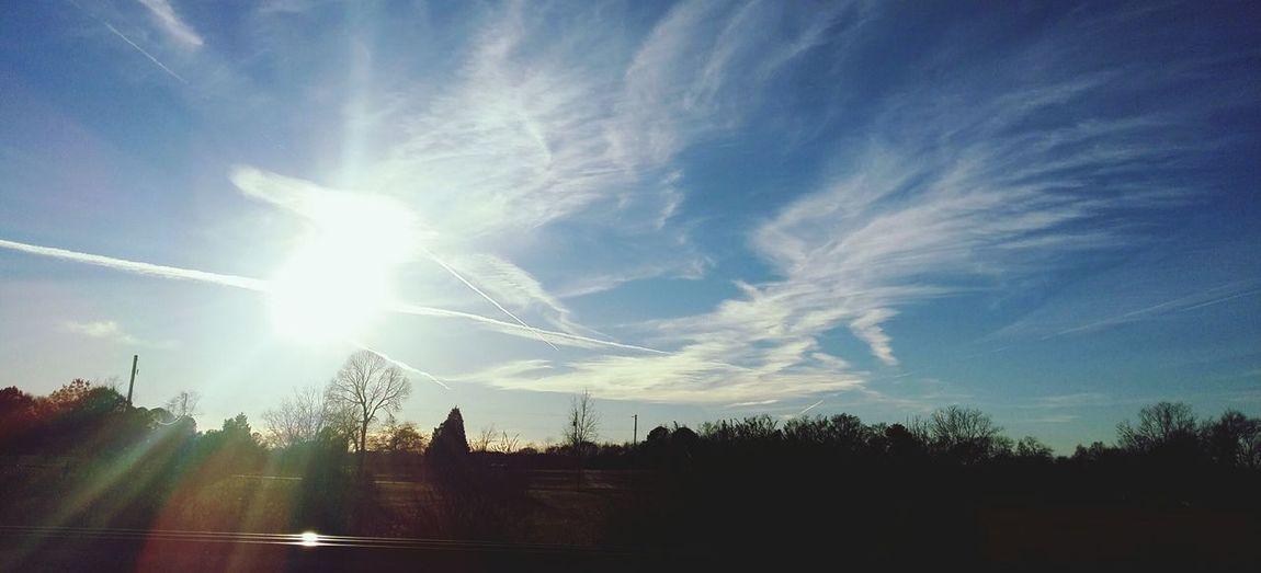 Showcase: January Sunset #sun #clouds #skylovers #sky #nature #beautifulinnature #naturalbeauty #photography #landscape Taking Photos Enjoying Life Sun Freelance Life Chilton County
