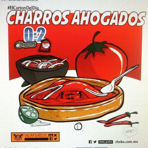 """""""Charros ahogados"""" ElCartonDelDia Zheko_grafico DisfrutenloConLeche Charrosdejalisco"""