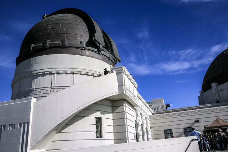 Architecture Building Building Exterior Built Structure California Capital Cities  City Clear Dome Exterior Famous Place Famous Places Griffith History International Landmark Low Angle View Modern Office Building Outdoors Religion Sky Tall Tall - High Tourist Tower