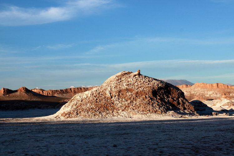 Ciel Bleu ☀ Cielo Azul Y Nubes Desert D'Atacama Desierto De Atacama Valle De La Luna , San Pedro De Atacama ,Chile Vallée De La Lune