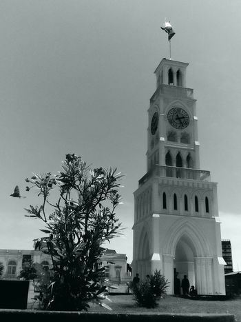 Iquique Chile  Architecture Built Structure Building Exterior Spirituality Place Of Worship Religion Church Clear Sky Tree Arch Outdoors Travel Destinations Day Famous Place Tall - High Tourism Façade No People History Exterior
