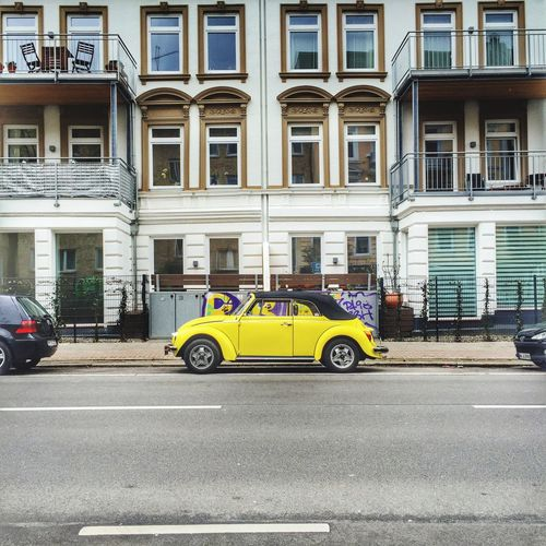 Yellowcar VW Beetle