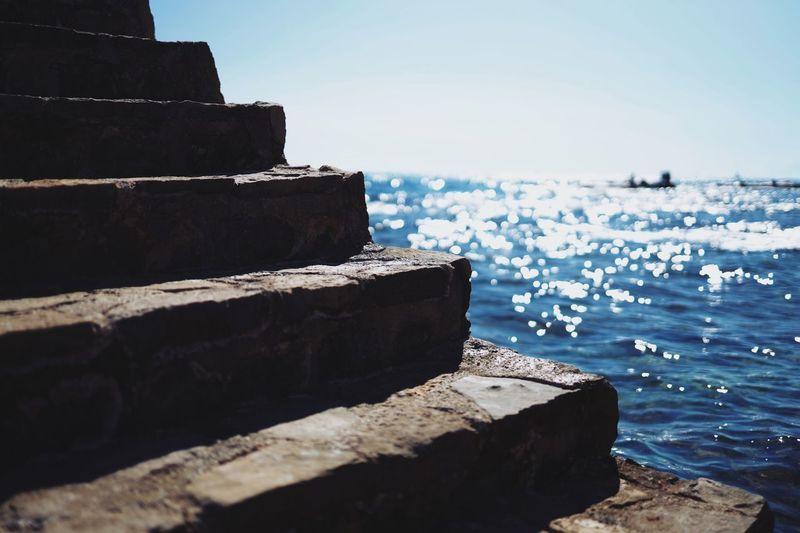 Staircase into