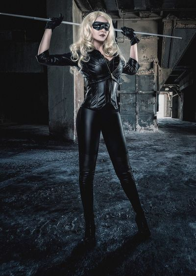 Arrow - Sara lancer / Black Canary Cosplay Young Women Cosplay First Eyeem Photo