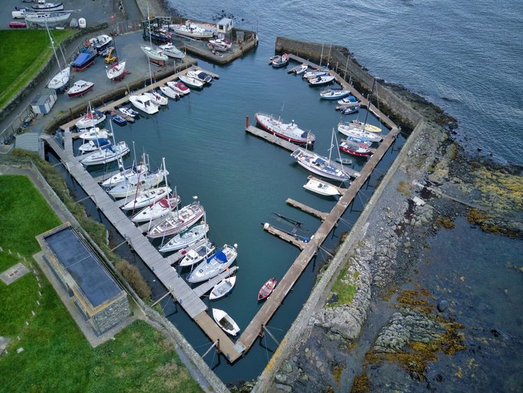 Aerial View Architecture City Day Freight Transportation Harbor High Angle View Moored Nature Nautical Vessel No People Outdoors Sea Transportation Water