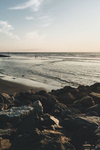 Ocean View Water Beach Ocean Vscocam VSCO IPhoneography Beach Life Sunset Nature France Atlantic Ocean People And Places