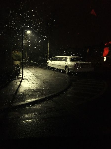Rainy Days Rain Limousine Long Night Nightphotography Car Nightlife Havenstadt Bremerhaven Bremen Germany Germany🇩🇪 Deutschland Love Wet Street Weather Rainy Season Outdoors 2017