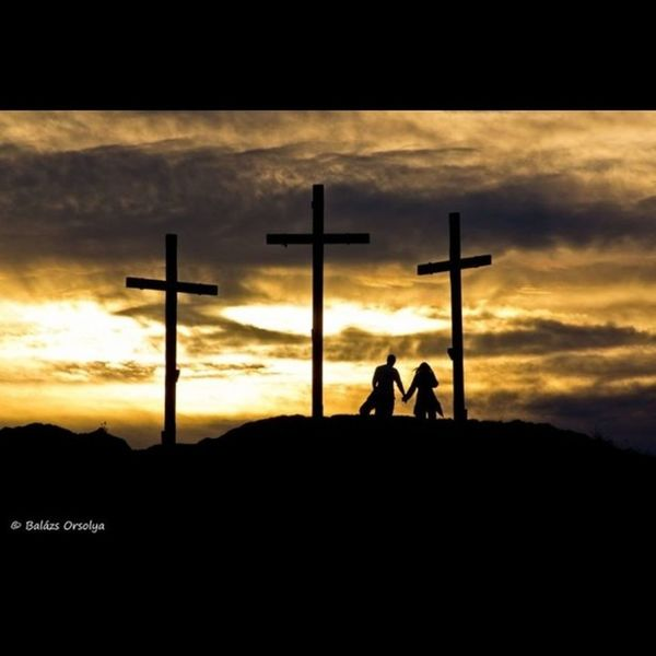 Good night Sunset Love Crucifix Triple Budaörs Kőhegy Budapest Photo Photography Couple 👫 Colors Sony Balazsorsy Borzilla Friday Photooftheday The Great Outdoors - 2016 EyeEm Awards