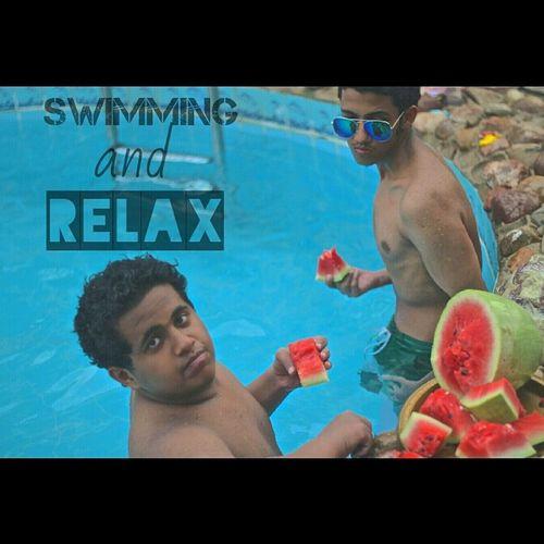 With abade? الدرة جدة بحر حبحب Durrat_al_arous Relax Swimming Jeddah