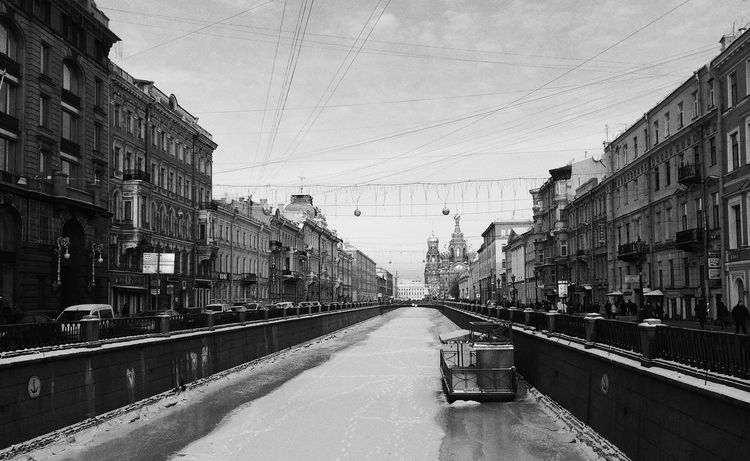Saint Petersburg Hometown Photography Blackandwhite