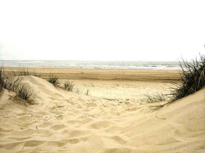 Sand Dune Sea Clear Sky Beach Sand Water Summer Sky Horizon Over Water