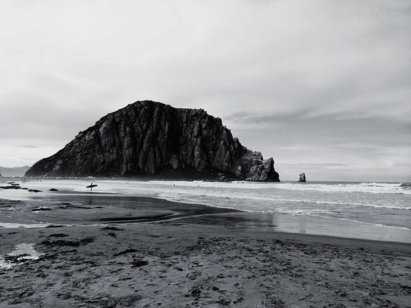 Shot in Morro Bay, Ca. EyeEm Gallery Blackandwhite EyeEm Best Shots Nature IPhoneography EyeEm Protecting Where We Play Taking Photos EyeEm Best Edits Eye4photography  Nature_collection Light And Shadow Beautiful Nature Meet My Perspective EyeEm Nature Lover Beautiful Beach From My Point Of View Capture The Moment Sea Seaside Black And White Enjoying Life Authentic Moments California