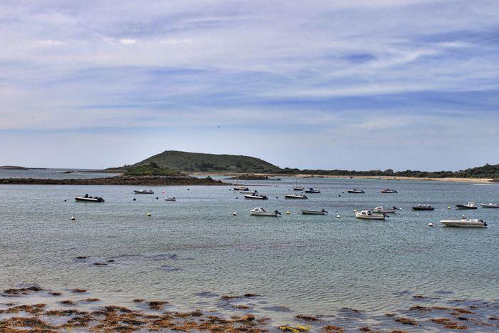 Scilly Isles Tresco Sea Boats