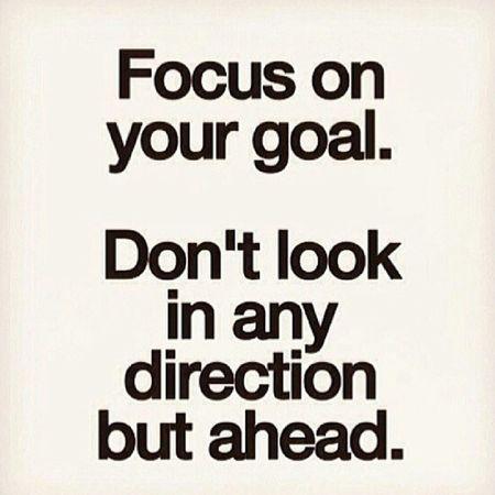 Focus Inspiration Boss NeverLookBack