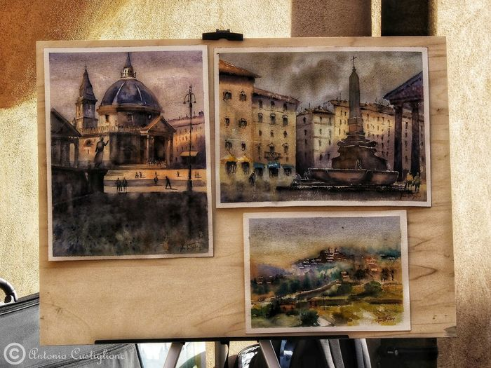 Backgrounds Frame Full Frame Architecture Close-up Picture Frame Fine Art Painting Oil Painting Modern Art Painted Image Art Studio
