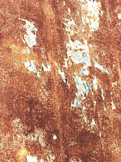 Backgrounds Full Frame Textured  Close-up Crumpled No People Day Outdoors Time Passes By Rusted Metal  Rusted Aged Orange Color Rust Berlin