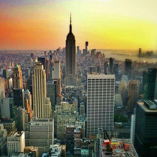 Manhattan Skyline Empire State Building Manhattan The Art Of Mankind