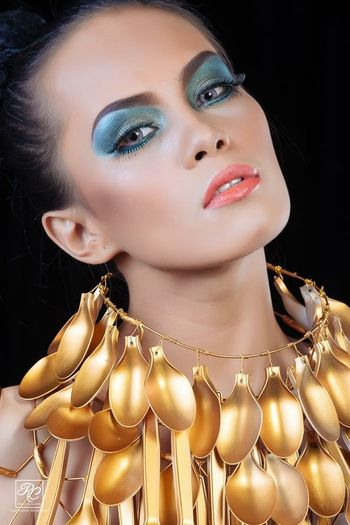 High Fashion Gold Modeling Portrait Photography Portrait Of A Woman Portait Fashion Model Shoot Beauty Redefined Portrait