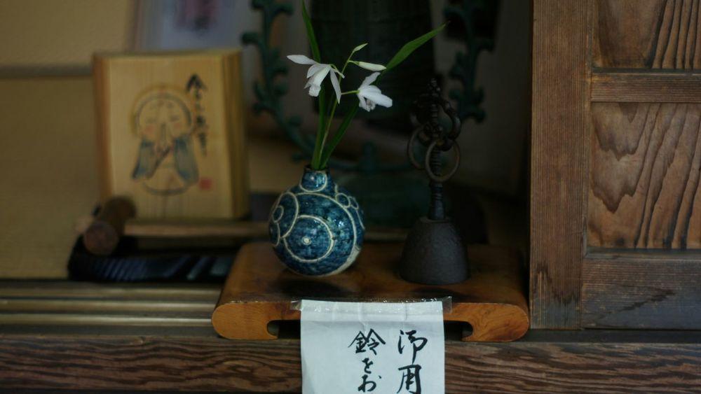 Indoors  Day Flower Smc Takumar 55mm F1.8 Nex5 Kyoto Buddhist Temple Entrace