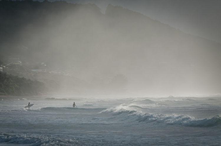 Apollo Bay Australia Surf Victoria Beach Beauty In Nature Fog Melbourne Sea Sunrise Surfers Swimming Wave