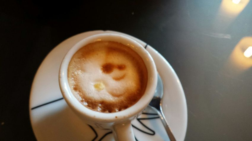 Food Simpatia Mattina Caffè Buon Umore Di Prima Mattina