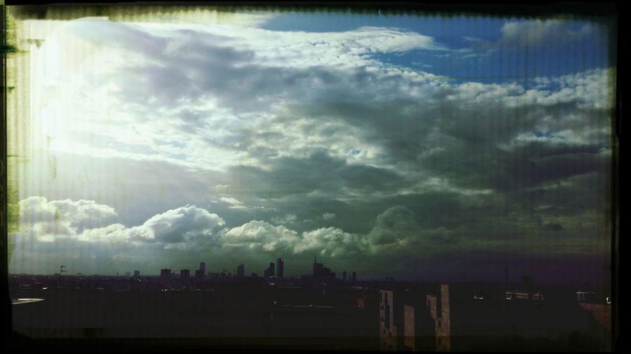 Milan Porta Garibaldi Sky And Clouds Twilight