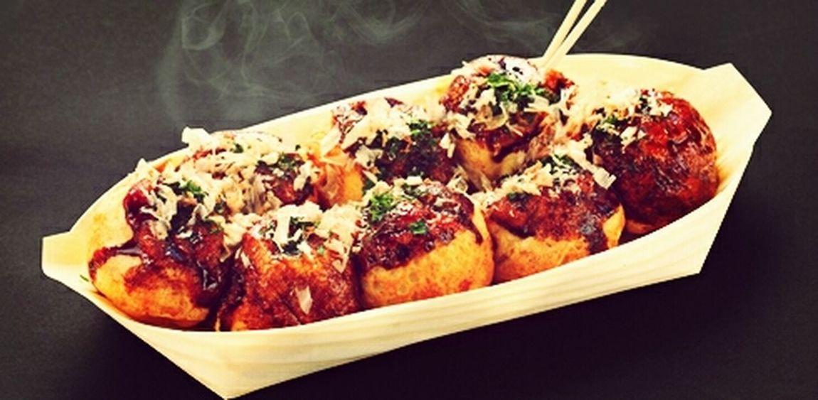 takoyaki :D Delicious Yummi :) Taking Photos Enjoying Life thanks aunty :*