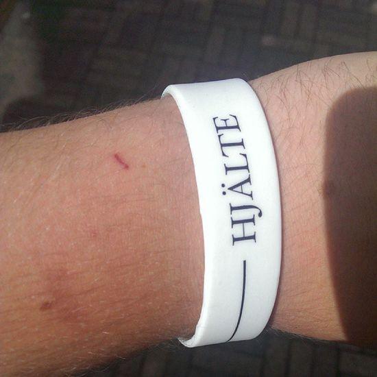 Fått mina armband! Hj ältarnasdag