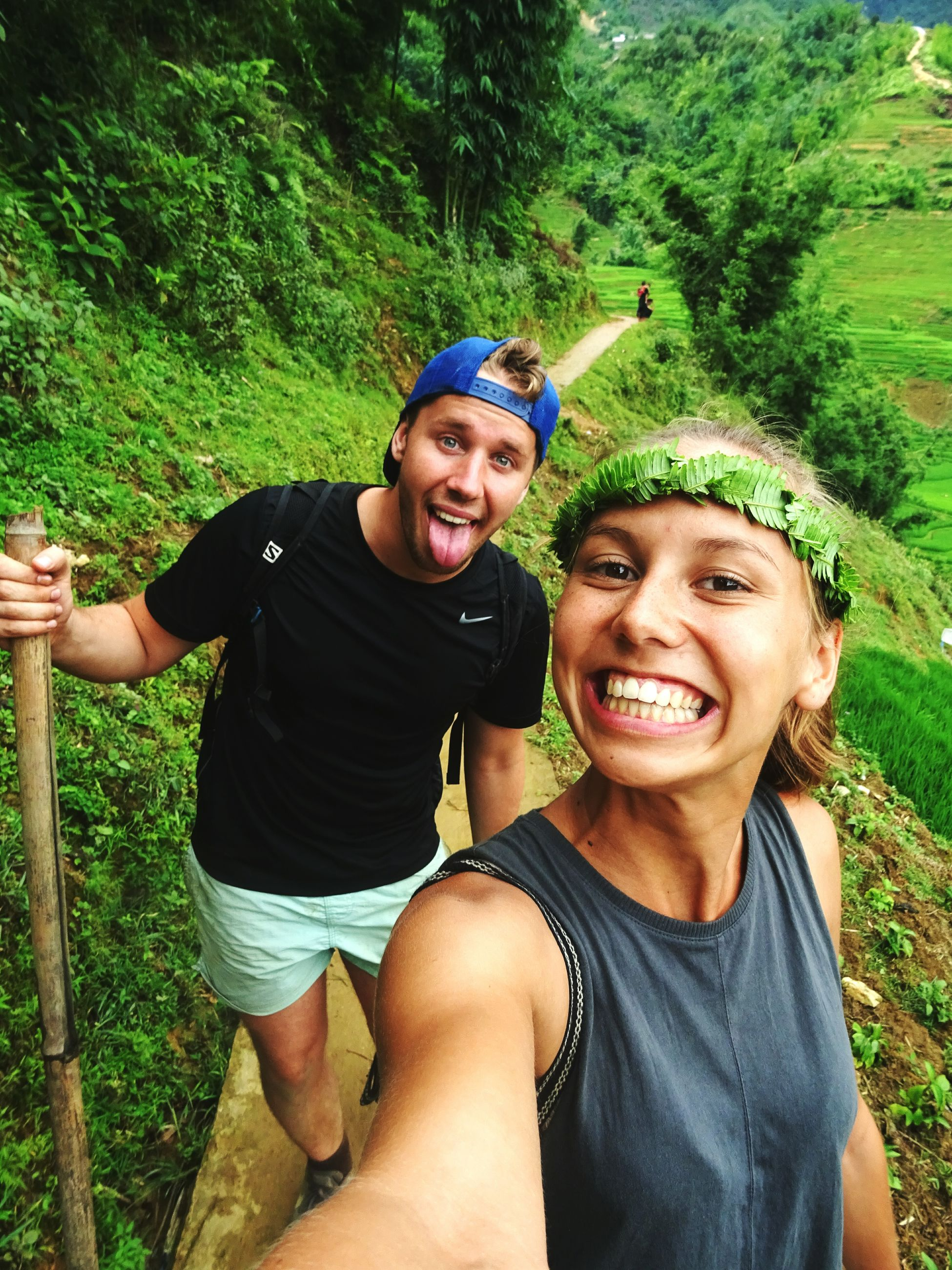 two people, happiness, portrait, looking at camera, smiling, young adult, males, lifestyles, communication, outdoors, togetherness, people, adults only, cheerful, men, adult, friendship, young women, day