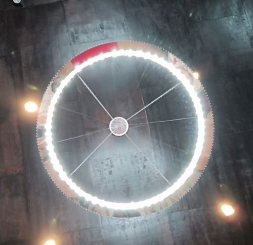 Circle Lighting Hall Christmas Circlle RU17 Skill  Illuminated No People Day Indoors  Close-up