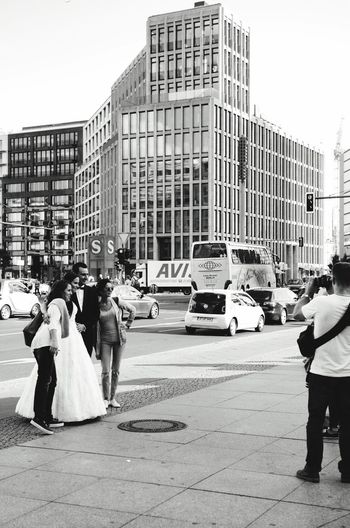 Streetphotography Street Photography Streetphotography_bw People People Watching People Photography Peoplephotography Blackandwhite Photography Black And White Photography B&w B&w Photography Berlin City Life City Urbanphotography Urban Potsdamer Platz Tourists marriage Monochrome Up Close Street Photography Telling Stories Differently Capture Berlin