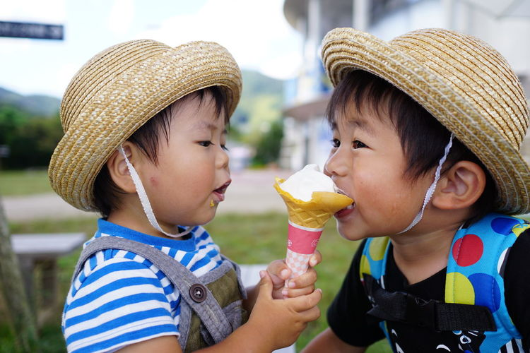 Boys Love Childhood First Eyeem Photo