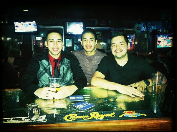 with my bros Friday Night