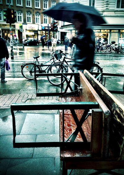 Rain Spring The World - My Hood Street Photography