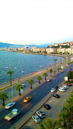 Streetphotography Road Lines Sea Coastline View Izmir Enjoying The Sun