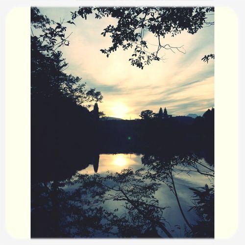 斑尾 Madarao Trail Sunset Landscape